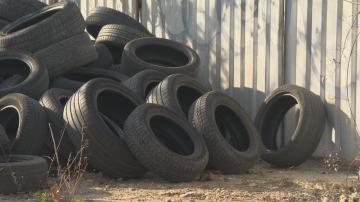 СО осигурява повече от 30 места за събиране на стари гуми