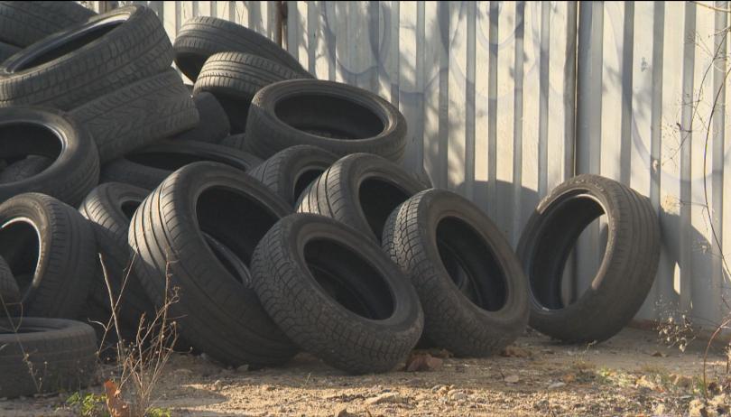 С повече от 30 места за събиране на стари гуми,
