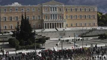 24-часова стачка блокира обществения сектор в Гърция