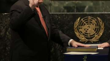 Антониу Гутериш положи клетва като девети генерален секретар на ООН