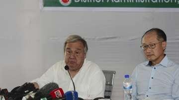 Антониу Гутериш призова Мианма да приеме обратно избягалите рохинги