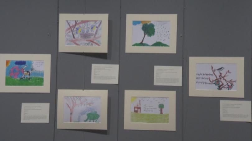 Изложба на българчета, хайку поети, наградени на 15-ия Световен конкурс