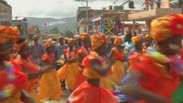 В Хаити започна сезонът на карнавалите