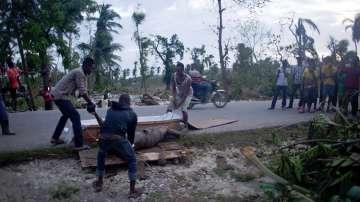 Броят на жертвите на урагана Матю в Хаити достигна над 800