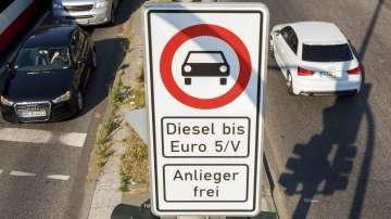 Без дизелови автомобили в Хамбург
