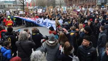 Вместо на училище - на протест срещу климатичните промени