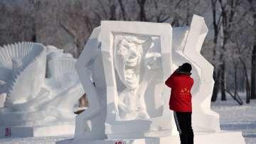 В Китай завърши фестивалът на ледените фигури