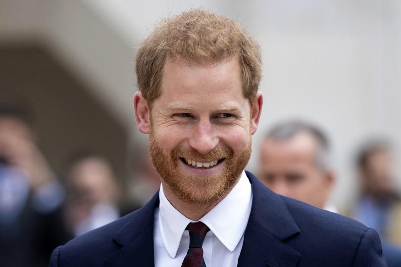 принц хари избегна конфузна среща бившата
