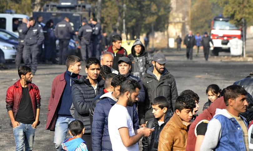 инцидент бежанския център харманли