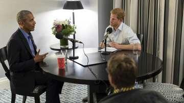 Принц Хари интервюира Обама