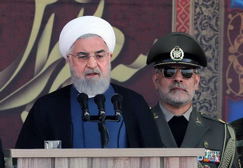 Иранският президент Хасан Рохани заяви, че чуждестранните сили създават нестабилност