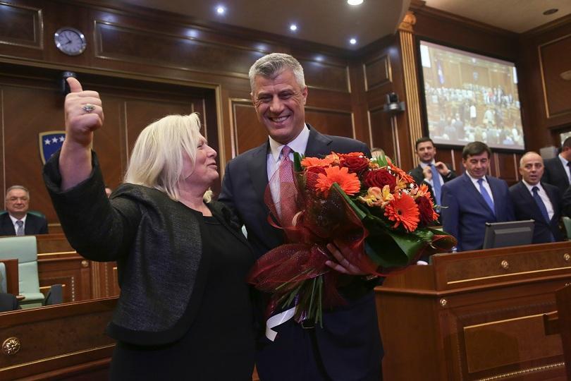 Хашим Тачи - косовски президент