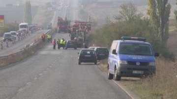 Мъж загина, след като беше блъснат на затворен за ремонт пътен участък в Хасково