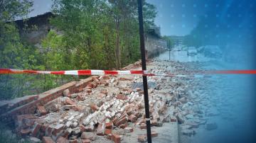 Мъж загина в Хасково, след като върху него падна ограда от бивше поделение