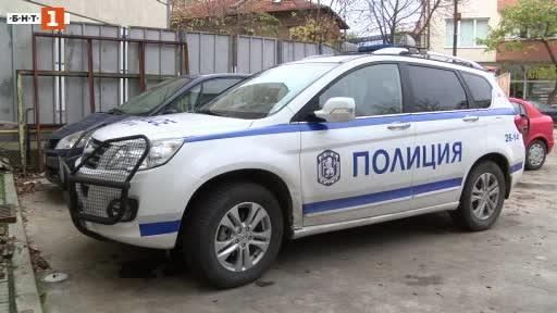 Снимка: Пиян младеж без шофьорска книжка е ударил полицейски автомобил в Хасково