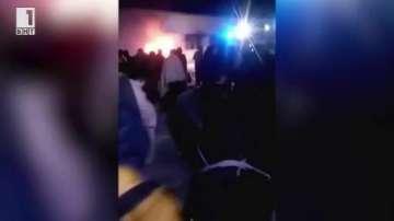 500 бежанци са били евакуирани при снощния пожар в Харманли