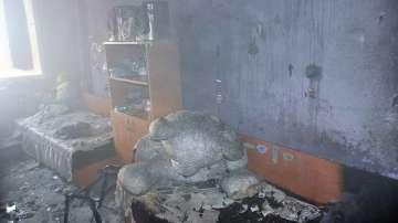 Пожар в ученичешки общежития в Хасково, няма пострадали