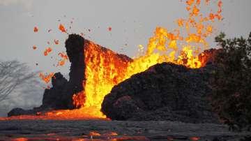Вулканът Килауеа на Хаваите продължава да изригва