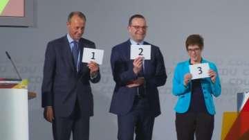 Кандидатите за наследници на Меркел представят програмите си