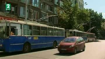 Бракуват стари тролейбуси във Варна