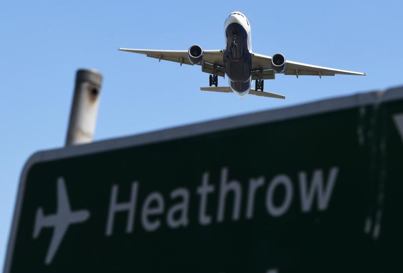 """Очаква се част от полетите на летище """"Хийтроу"""" в Лондон"""