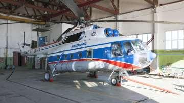 Откриха руския хеликоптер, паднал в Северния ледовит океан