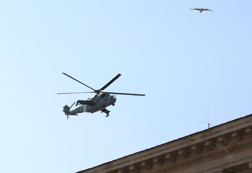 Терем ще ремонтира хеликоптерите на армията срещу 38,7 млн. лева