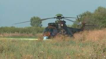 Военна прокуратура в Пловдив проверява инцидента с хеликоптера Кугър
