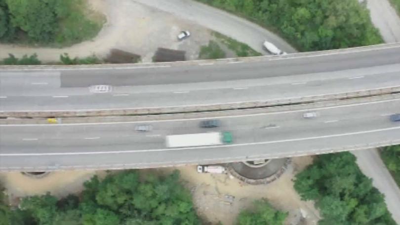 В участъците с ремонт в посока Варна на магистрала