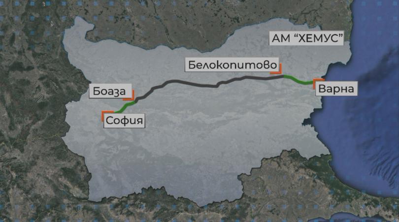 С 30 минути по-бързо стигаме от днес до Варна. Нови