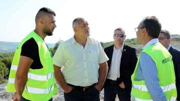 Участъкът на АМ Хемус между Ябланица и Боаза ще бъде завършен предсрочно