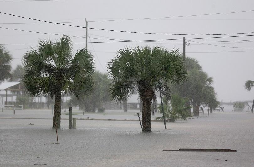 снимка 1 Ураганът Ермин връхлетя щата Флорида (СНИМКИ и ВИДЕО)