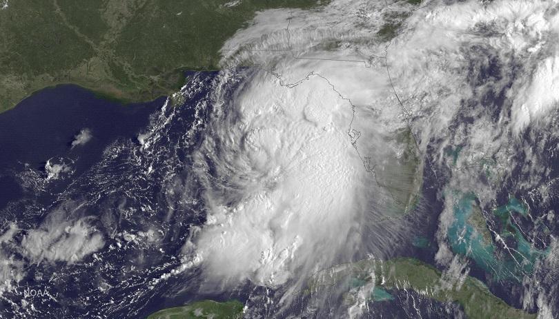снимка 2 Ураганът Ермин връхлетя щата Флорида (СНИМКИ и ВИДЕО)