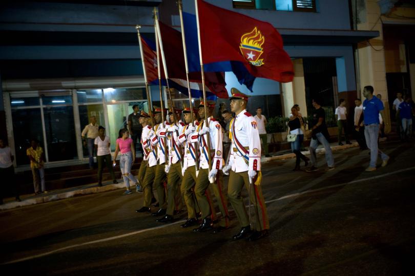 снимка 1 Факелно шествие в чест на кубинския национален герой Хосе Марти