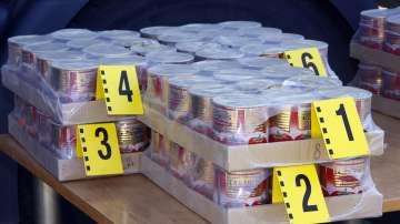 Рекордните 200 кг хероин били скрити в кутии от доматено пюре