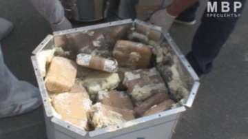 Заловиха 33 кг хероин в Хасково