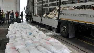 Близо 200 кг хероин задържаха на ГКПП Капитан Андреево