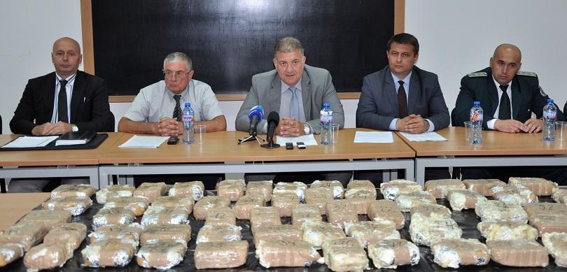снимка 1 Заловиха 33 кг хероин в Хасково