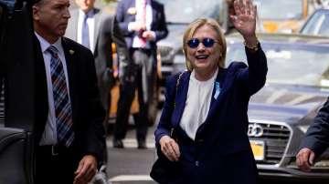 Хилари Клинтън е болна от пневмония