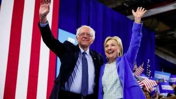 Бърни Сандърс подкрепи бившия си съперник Хилари Клинтън за кандидат-президент