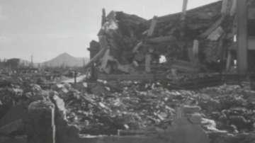 Неизлъчвани кадри от бомбардировките на Хирошима