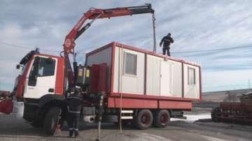 Първите фургони пристигнаха в Хитрино