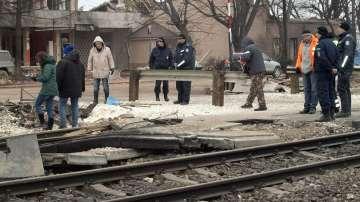 След 11 дни блокада, Хитрино беше отворено за жителите му