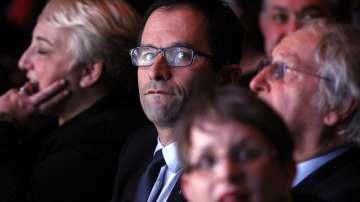 Инцидент по време на реч на френския президент Франсоа Оланд