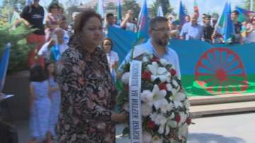 Роми от цялата страна почетоха паметта на жертвите на Холокоста