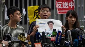 Арестуваха трима известни активисти в Хонгконг