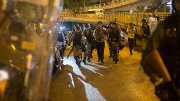 Пореден мащабен протест в Хонконг