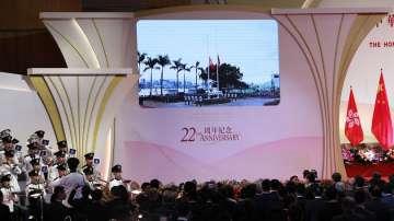 Хонконг отбеляза 22-та годишнина от връщането си на Китай