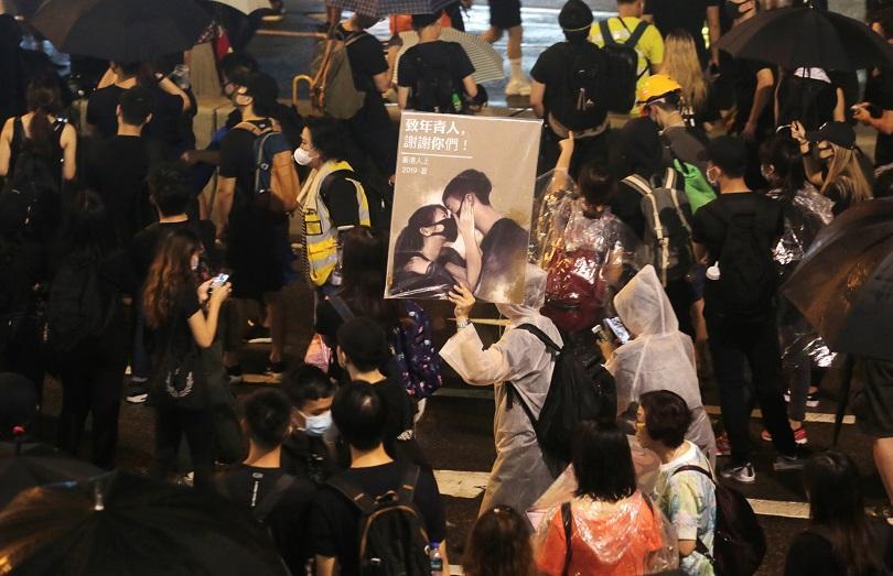 Масова демонстрация и днес в Хонконг, 11-та седмица след началото
