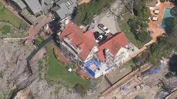 Домът на Антъни Хопкинс е застрашен от свлачище